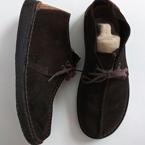 Men's Clarks Originals Desert Trek leather boots 8